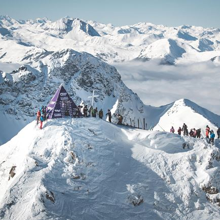 Freeride World Tour Fieberbrunn / Kitzbüheler Alpen
